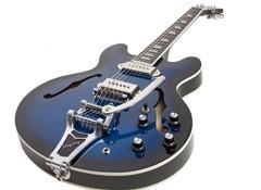 Test de la guitare Epiphone Gary Clark Jr. «Blak & Blu» Casino avec Bigsby