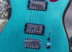 Test de la guitare électrique Harley Benton Fusion-T HH EB OCT