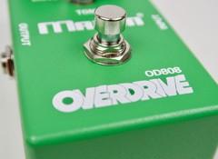 Test de la pédale d'overdrive Maxon OD-808