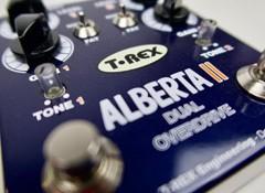 Test de la pédale d'overdrive T-Rex Engineering AlbertaII