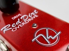 Test de la pédale d'overdrive Keeley Electronics Red Dirt Mini