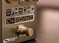 Test de la pédale Source Audio C4 Synth
