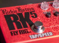 Test du multi-effets Tech21 Richie Kotzen RK5 Fly Rig 2