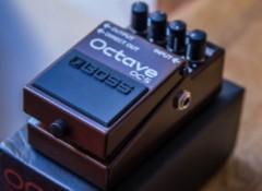 Test de la pédale d'octaver Boss OC-5