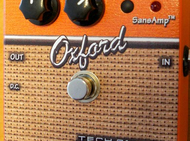 Test de la pédale Tech 21 Oxford