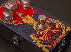 Test de la Keeley Electronics Retro Super Germanium Phat Mod