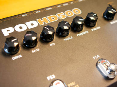 Test du Line 6 POD HD 500