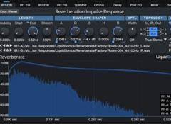 Test de la réverbe logicielle LiquidSonics Reverberate 2