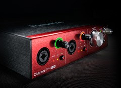 Test de l'interface audio Focusrite Clarett 2Pre USB