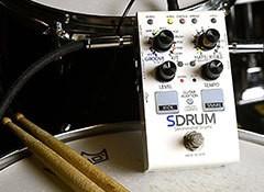 Test de la pédale pour guitares et basses Digitech SDRUM