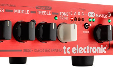 Test de la tête TC Electronic BH250