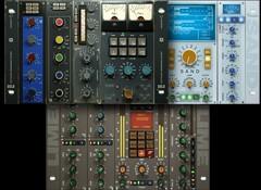 Test des tranches de consoles virtuelles Acustica Audio Sand, Lime & Gold