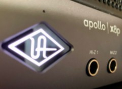 Test de l'interface Universal Audio Apollo x8p