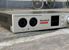 Test de l'interface audio Antelope Discrete 4 Synergy Core