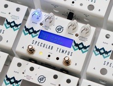 Test de la pédale de réverbe et de delay pour guitares GFI System Specular Tempus