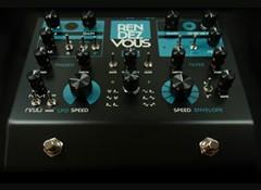 Test de la pédale de filtre et de modulation Glou-glou RendezVous