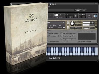 Test du Spitfire Audio Albion