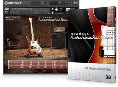 Test de Native Instruments Scarbee Rickenbacker