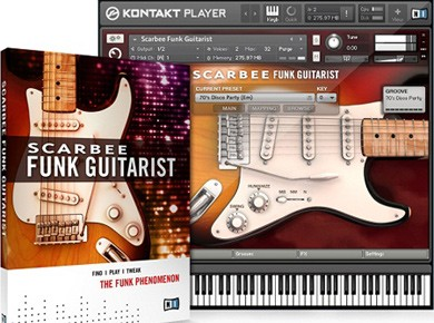 Test du Native Instruments Scarbee Funk Guitarist