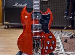 Test de la guitare Gibson SG Standard '61 Sideways Vibrola