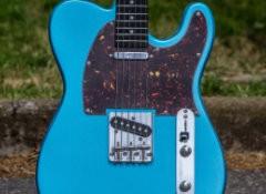Test de la guitare Eastone TL70 MLB