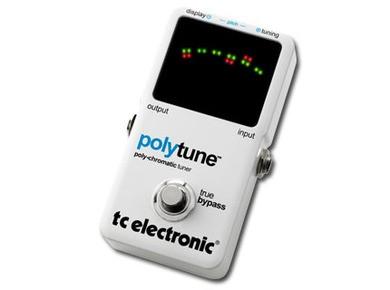 Test de la PolyTune de TC Electronic
