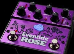 Test de la pédale de délai Eventide Rose
