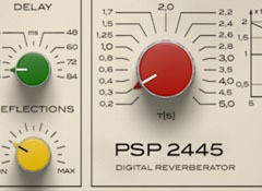 Test de la réverbe logicielle PSP Audioware PSP 2445