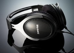 Test du casque de studio Shure SRH1540