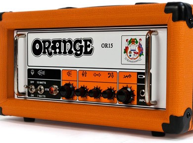 Test de l'ampli Orange OR15