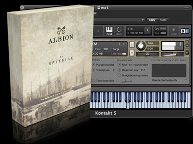 Test du Spitfire Audio Albion
