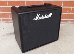Test de l'ampli guitare Marshall Code 25