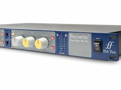 Test de l'ISA Two de Focusrite