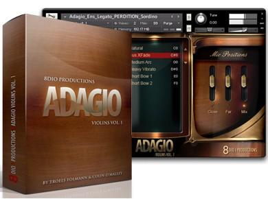 Test du 8dio Adagio Violins Vol. 1