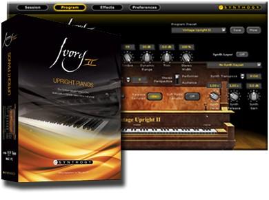 Test du Synthogy Ivory II Upright Pianos