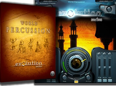 Test de l'Evolution Series World Percussion