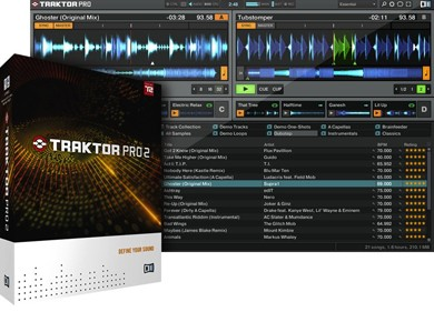 test du Native Instruments Traktor Pro 2