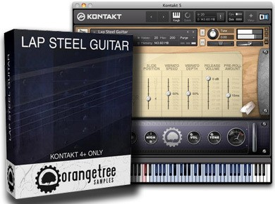 Test de l'Orange Tree Samples Lap Steel Guitar