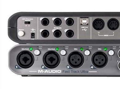 Test de la Fast Track Ultra de M-Audio