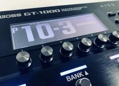 Test du pédalier multi-effet et simulateur d'ampli BOSSGT-1000