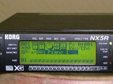 Test du Korg NX5R