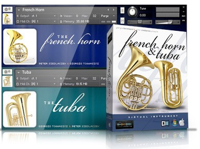 Test du Sample Modeling French Horn & Tuba