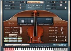 Test du violon alto virtuel Sample Modeling The Viola