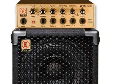 Test de la tête Eden Electronics WTX-500 et de l'enceinte EX110