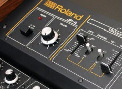 Test du synthétiseur vintage Roland Jupiter-4