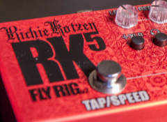 Test du multi-effets Tech21 Richie Kotzen RK5 Fly Rig 2