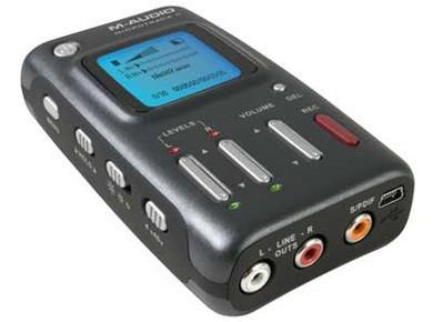 Test du M-Audio MicroTrack II