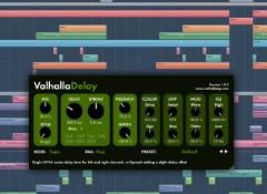 Test du délai logiciel Valhalla DSP ValhallaDelay