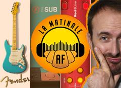 Les nouvelles Fender Pro US, du Dante chez Focusrite, un plug pour sub et un écho à bandes virtuel !