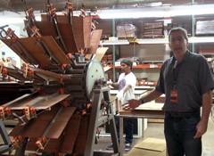 Visite de l'usine Taylor